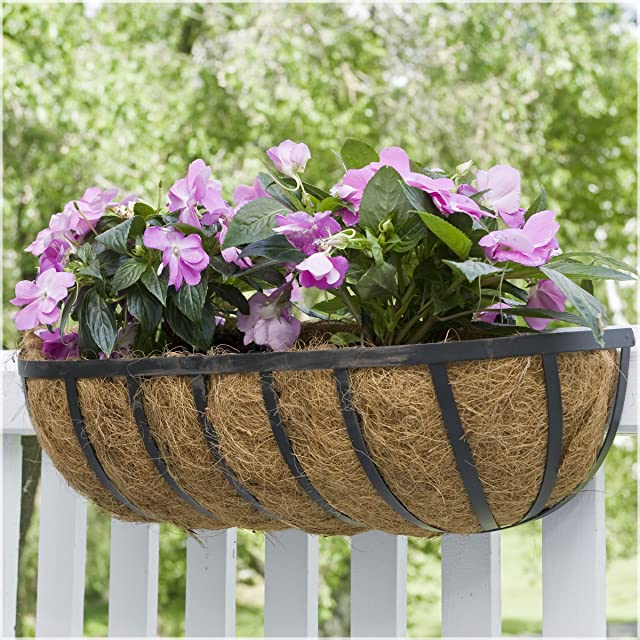 CobraCo HTR36-B 36-Inch English Horse Trough Planter