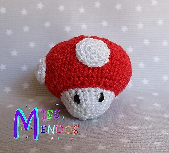 Llavero Seta de Mario Bros