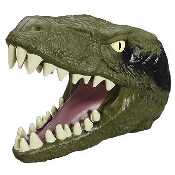 jurassic world tte de velociraptor gant en mousse dinosaure