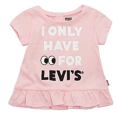 90b8d5e78 Amazon.com: Levi's Baby Girls' Graphic T-Shirt: Clothing