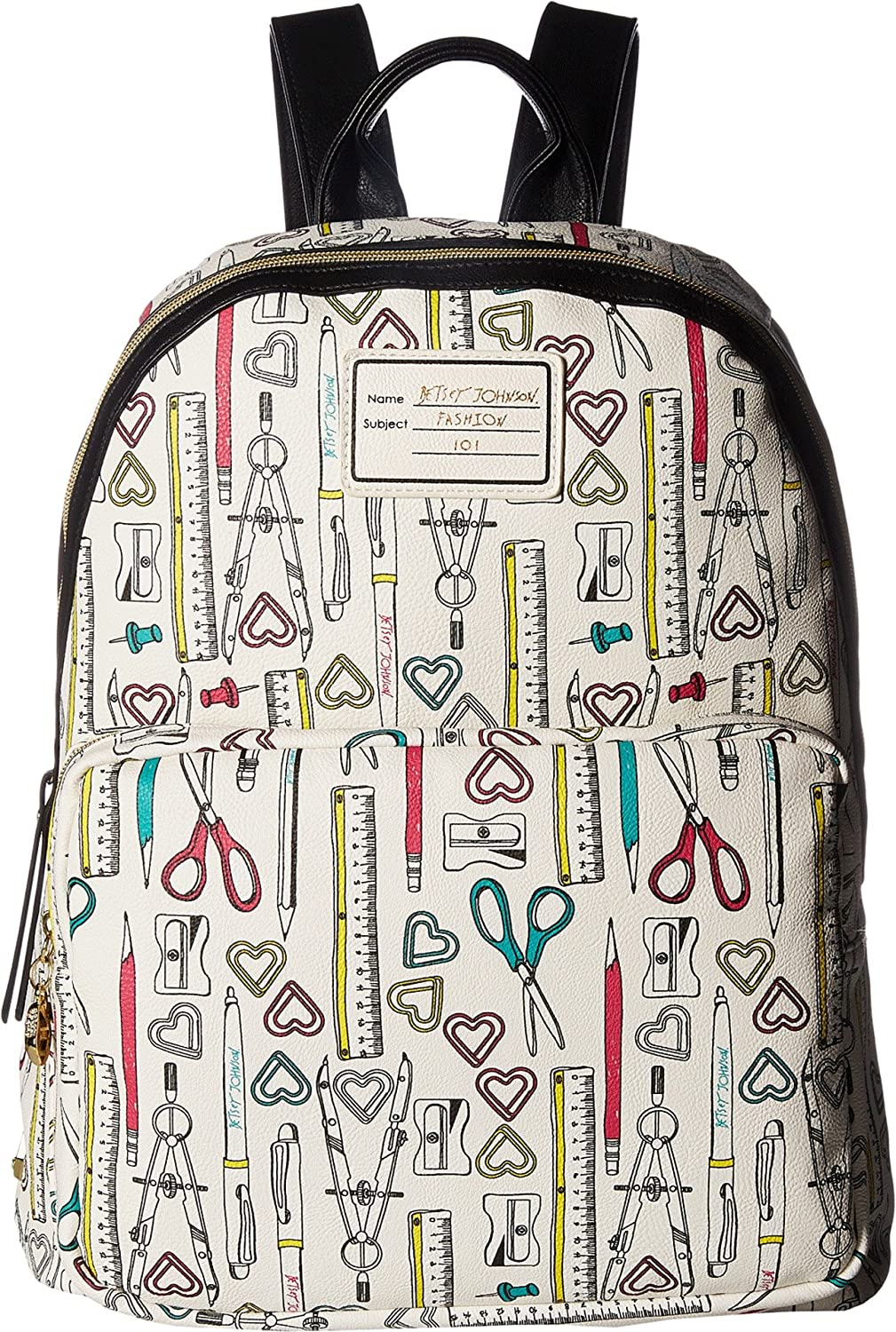 Betsey Johnson Womens School Backpack