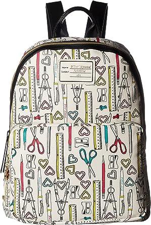 Betsey Johnson Womens School Backpack