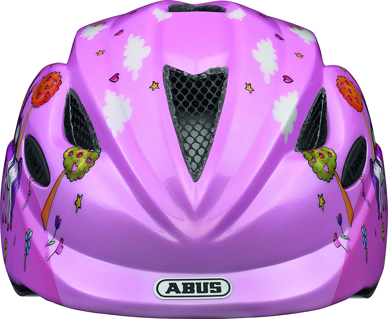 ABUS Anuky Casque V/élo Enfant Princess Taille M 52-57 cm