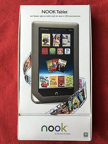 Amazon.com : Barnes & Noble NOOK Tablet 16gb (Color, BNTV250 ...