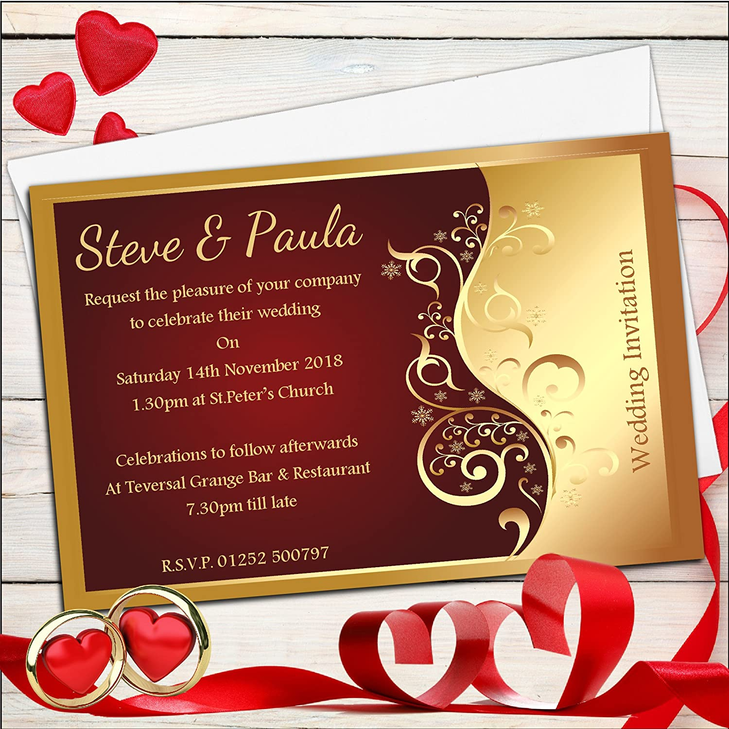 Famous Personalised Wedding Invites Uk Photos - Invitations and ...