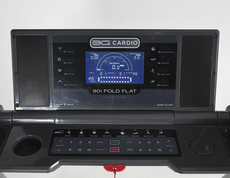 3G Cardio 80i - Cinta de Correr Plegable: Amazon.es: Deportes y ...