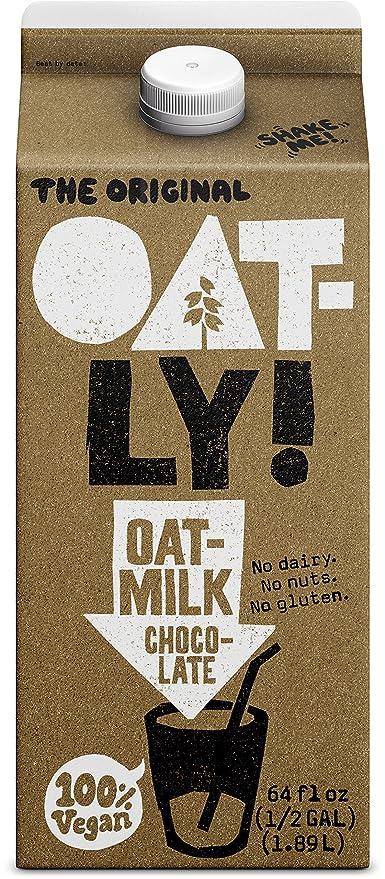 Oatly - Leche de avena 100% de chocolate vegano - 64 la Florida. onza