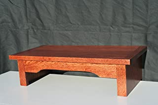 """product image for TV Riser Stand Mission/Arts and Crafts Style in Oak (38"""" W x 12"""" D x 7"""" H)"""