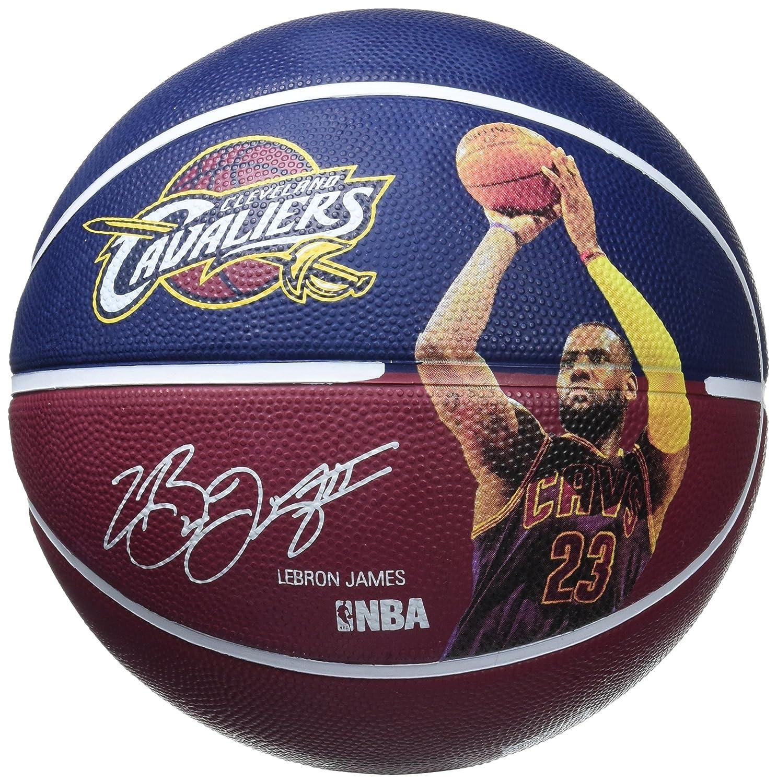 ballon de basket ball spalding nba player ball 2016 lebron. Black Bedroom Furniture Sets. Home Design Ideas