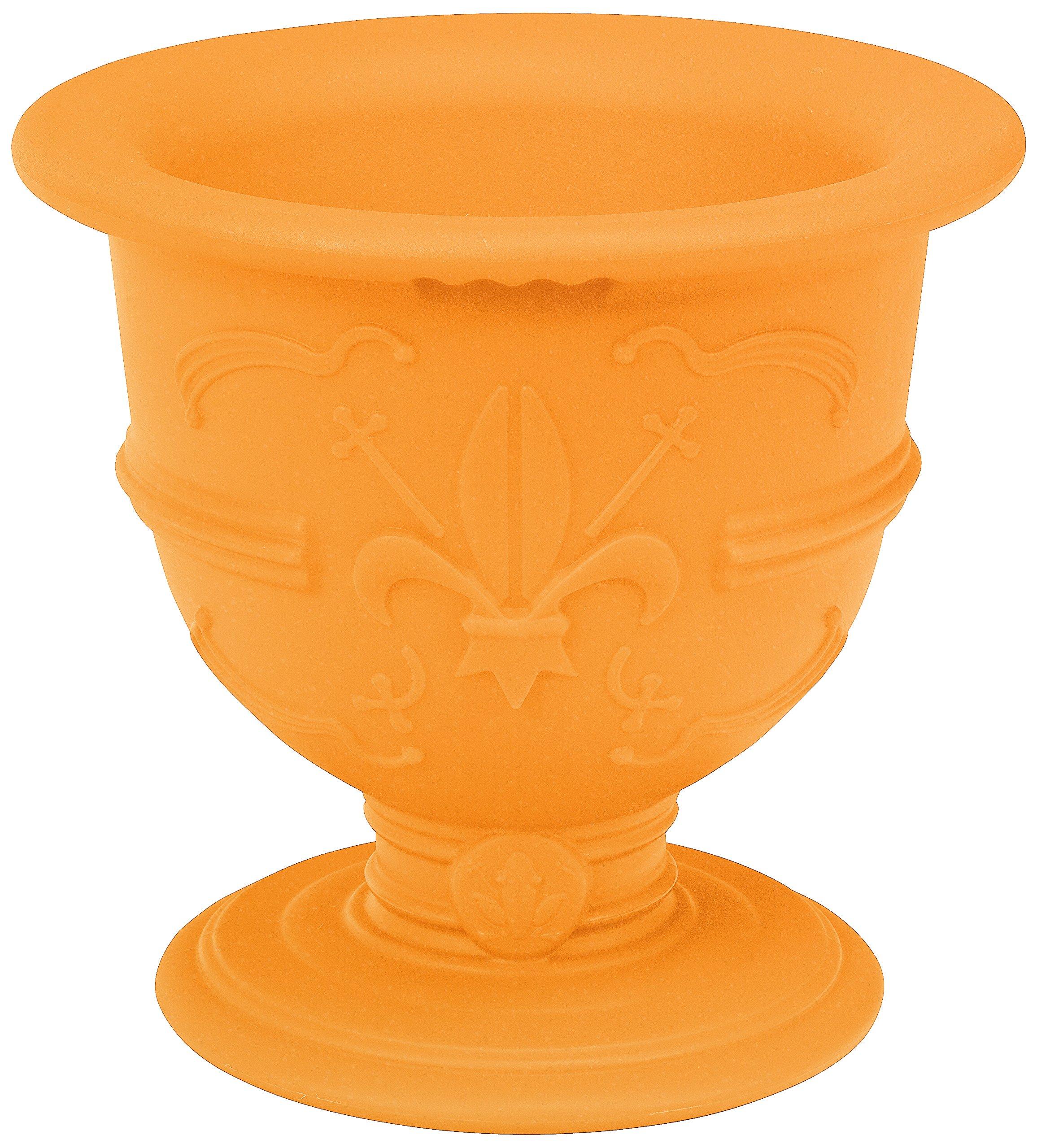 Slide Design SD POL035 FC 'Pot of Love' Bottle/Ice Holder in Standard Colours, Pure Orange