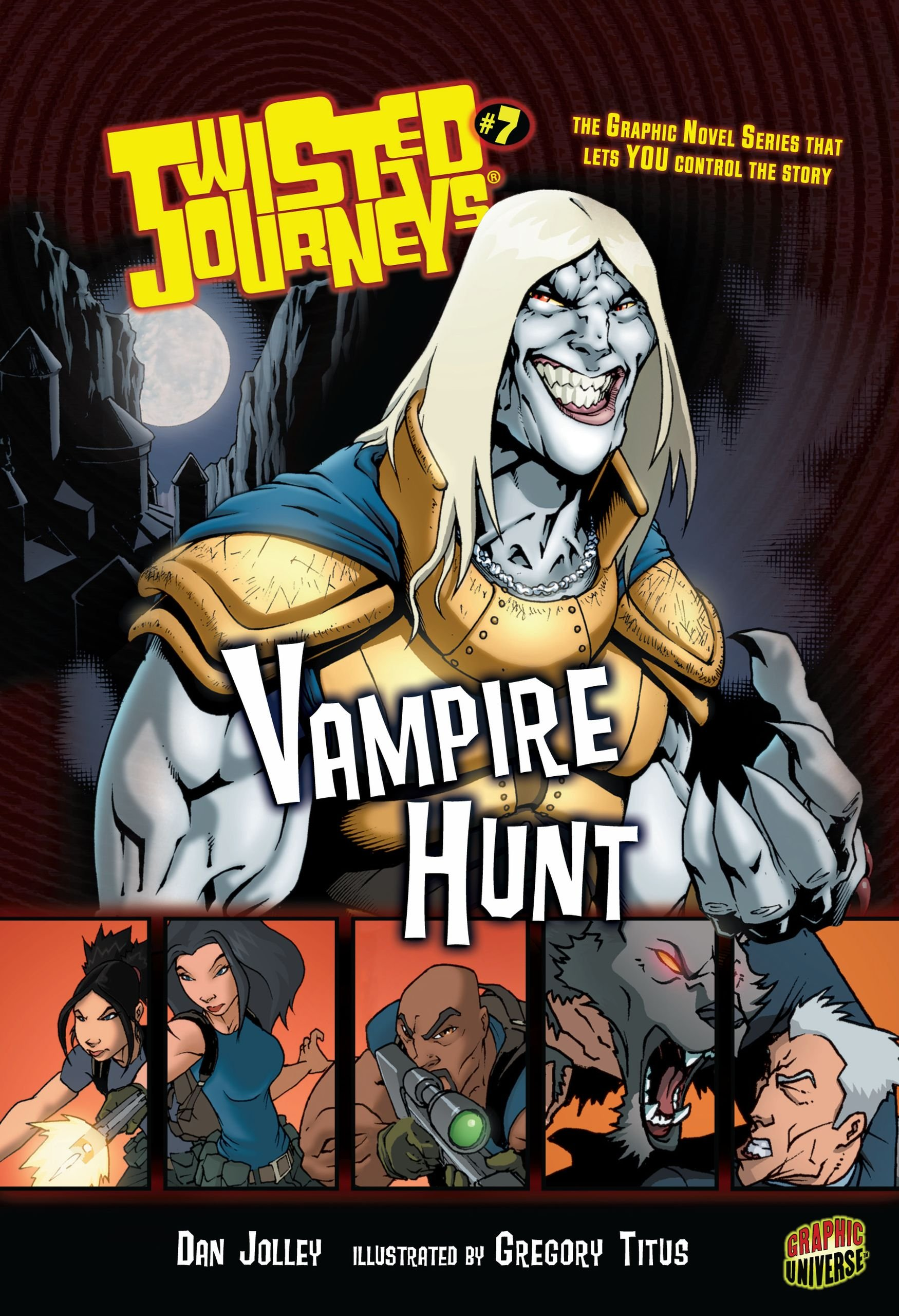 Vampire Hunt: Book 7 (Twisted Journeys) pdf