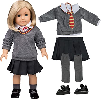 NEW American Girl Doll READY FOR FUN 7pc OUTFIT SET