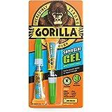 GORILLA GLUE 4044601 2 x 3G Super Glue Gel - White