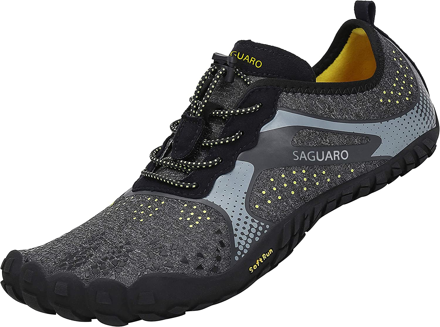 SAGUARO Chaussures de Trail Running Homme Femme Chaussures Minimalistes Chaussures de Sport Outdoor & Indoor Gym Fitness Randonnée Escalade Marche