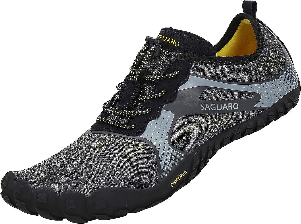 Zapatillas de Descalzo Hombre Mujer Escarpines de Deporte por la Gym Correr Playa Negro 36: Amazon.es: Zapatos y complementos
