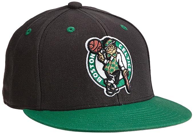 moderno ed elegante nella moda vero affare più vicino a adidas, Cappello NBA Boston Celtics Snap-Back, Nero (Black ...