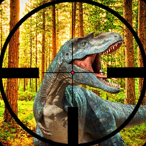 Real Jurassic Dino hunter FPS Shooting 2019 : Volcano jungle dinosaur gun shooting survival games battle predator  glacier raptor blackhole city raft battle shelter -