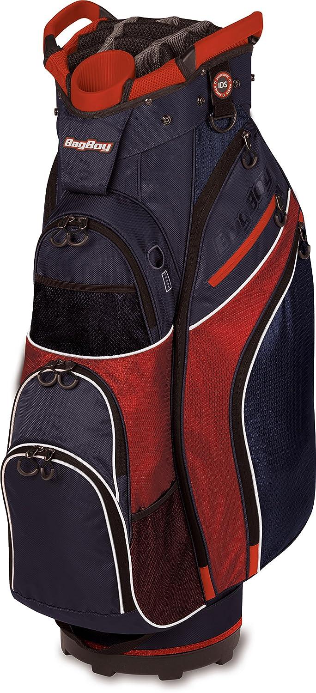 バッグBoy golf-冷却装置カートバッグ  レッド/ホワイト/ブルー B074CH1WCX