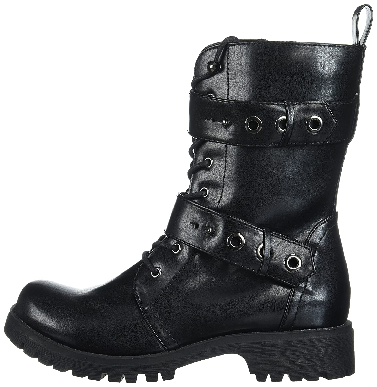 Volatile Women's B06XHBPS7K Pocket Combat Boot B06XHBPS7K Women's 7.5 M US|Black b5c902