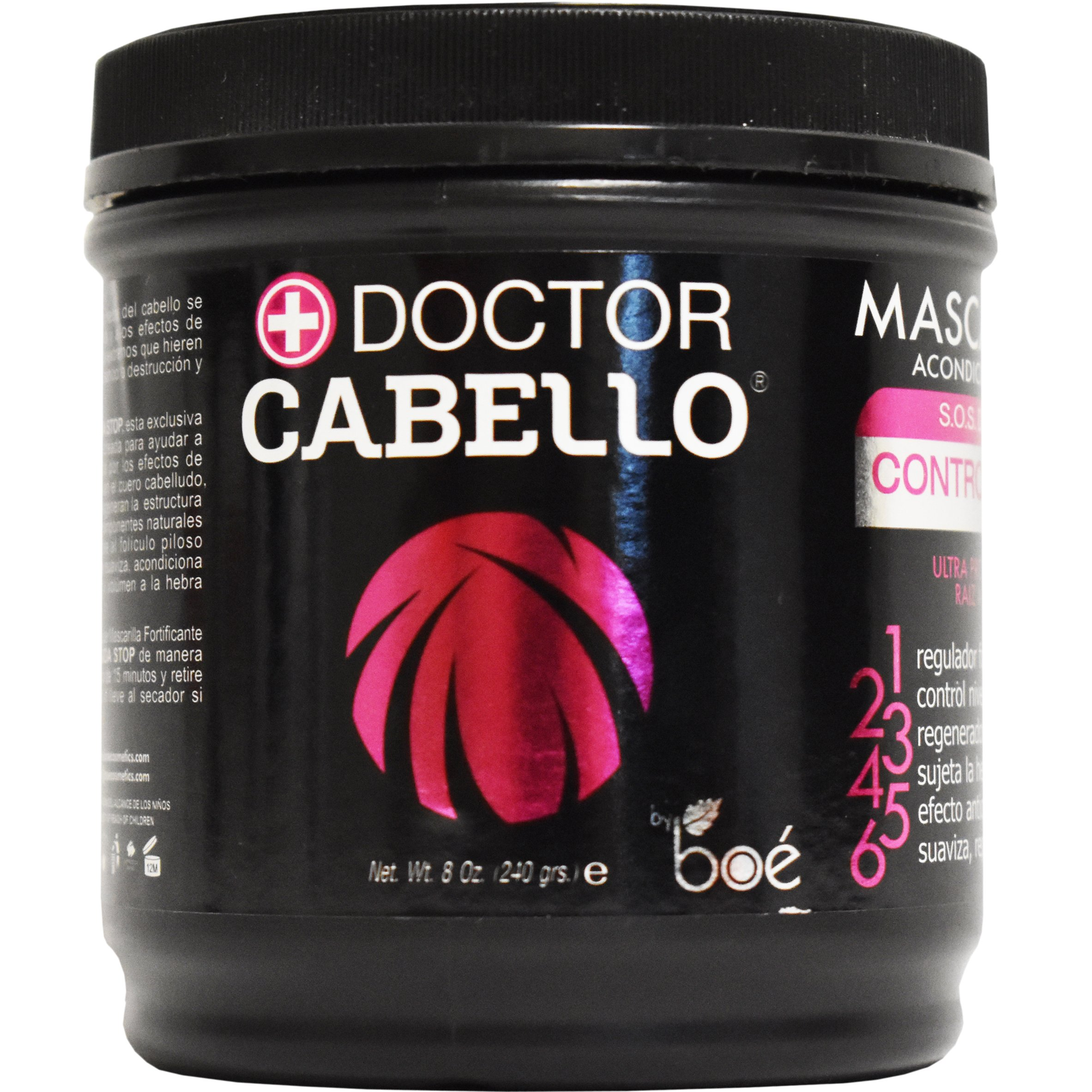 Doctor Cabello Mascarilla Acondicionadora S.O.S Defense Controlcaida Hair Loss Control Treatment, 8 Ounce