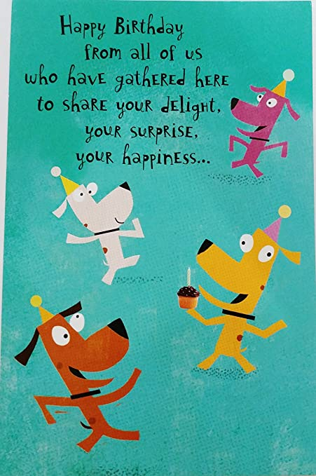 Amazon happy birthday from all of us funny humor greeting happy birthday from all of us funny humor greeting card gathered here to m4hsunfo