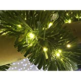 Festive Productions 20L LED Naked Silver Wire Lights, Warm White
