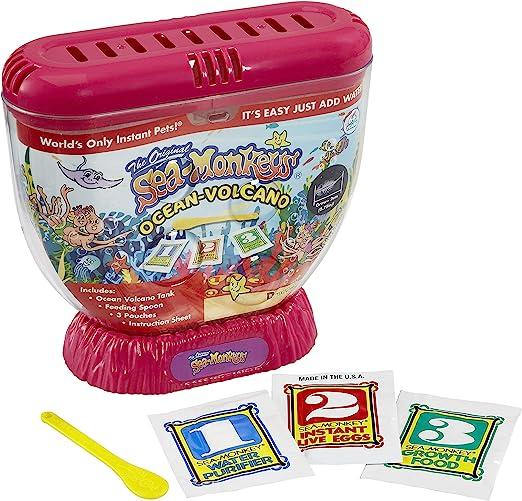 Sea Monkeys Zoo Zoológico del Volcán, Color sí. (Dragon-i 80483): Amazon.es: Juguetes y juegos
