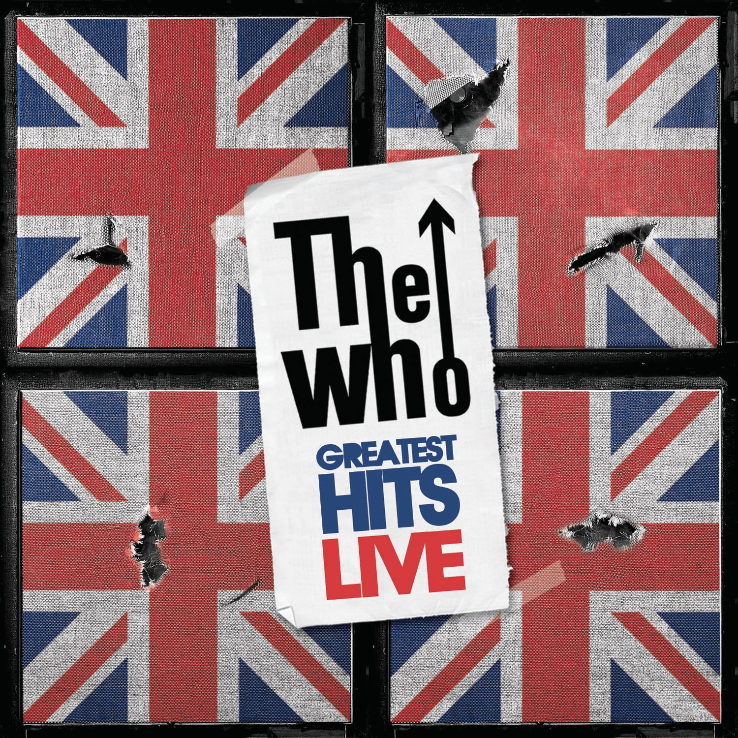 CD : The Who - Greatest Hits Live (2 Disc)