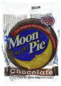 The Original Marshmallow Sandwich Moon Pie Since 1917, Double Decker 24 Individually Wrapped Pieces Chocolate Cos- 8