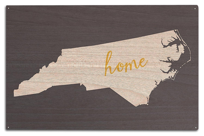 2019激安通販 North 10 Carolina – ホーム状態 – ホワイトonグレー Canvas Tote Bag Wood 15 LANT-55891-TT B073685J5F 10 x 15 Wood Sign 10 x 15 Wood Sign, 北見市:486df77b --- arianechie.dominiotemporario.com