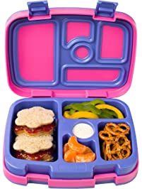 Bentgo Kids Brights – Leak-Proof, 5-Compartment Bento-Style Kids Lunch Box – Ideal Portion Sizes for Ages 3 to 7...