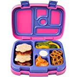 Bentgo Kids Brights – Leak-Proof, 5-Compartment Bento-Style Kids Lunch Box – Ideal Portion Sizes for Ages 3 to 7 – BPA…