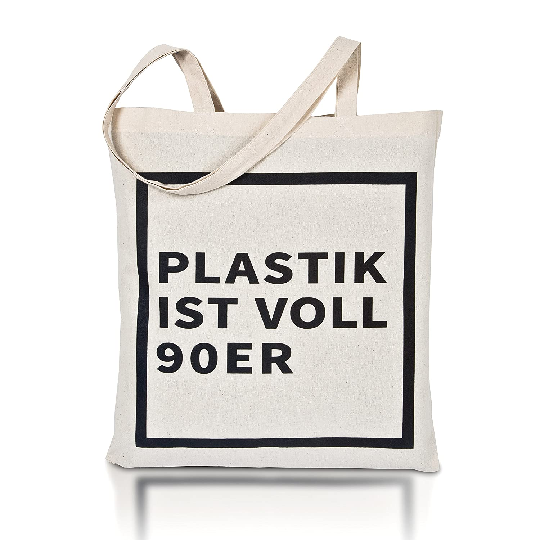 avoid waste Jutebeutel bedruckt - Nachhaltige Einkaufstasche