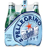 San Pellegrino Sparkling Water Plastic 6x1 ltr(Pack of 6)