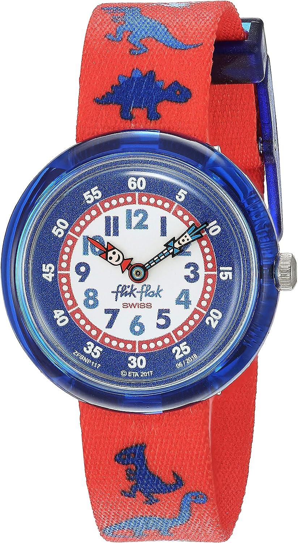 FlikFlak Jungen Analog Quarz Uhr mit Stoff Armband FBNP117: Amazon.de: Uhren - Flik Flak Uhr