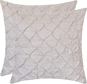 Sweepstakes: The White Petals Faux Linen Throw Pillow…