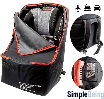 Amazon.com: Simple Being - Bolsa de viaje para asiento de ...
