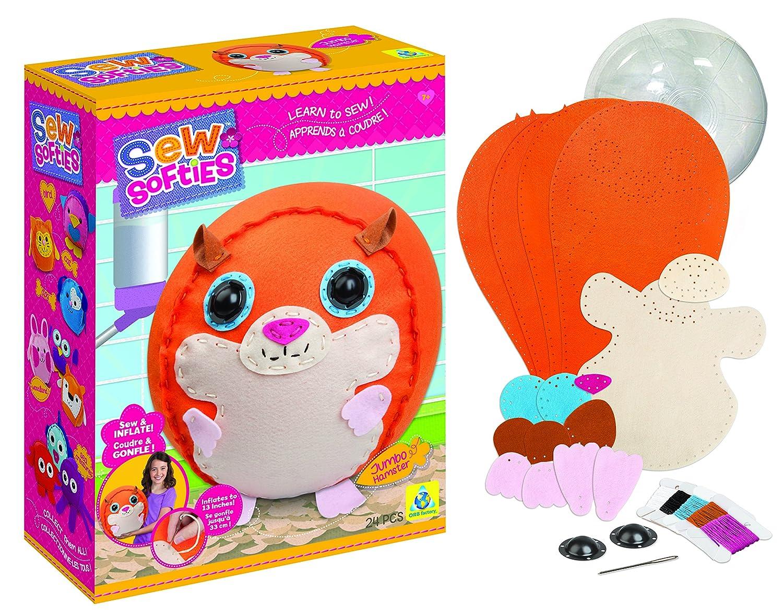 The Orb Factory Sew Softies Jumbo Hamster Sewing Kit 74302
