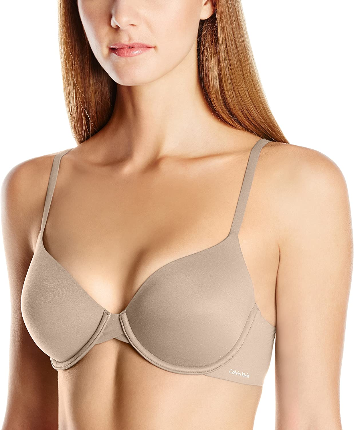 Calvin Klein Underwear Women's Perfectly Fit Full Coverage Bra with Light Memory Touch Lining