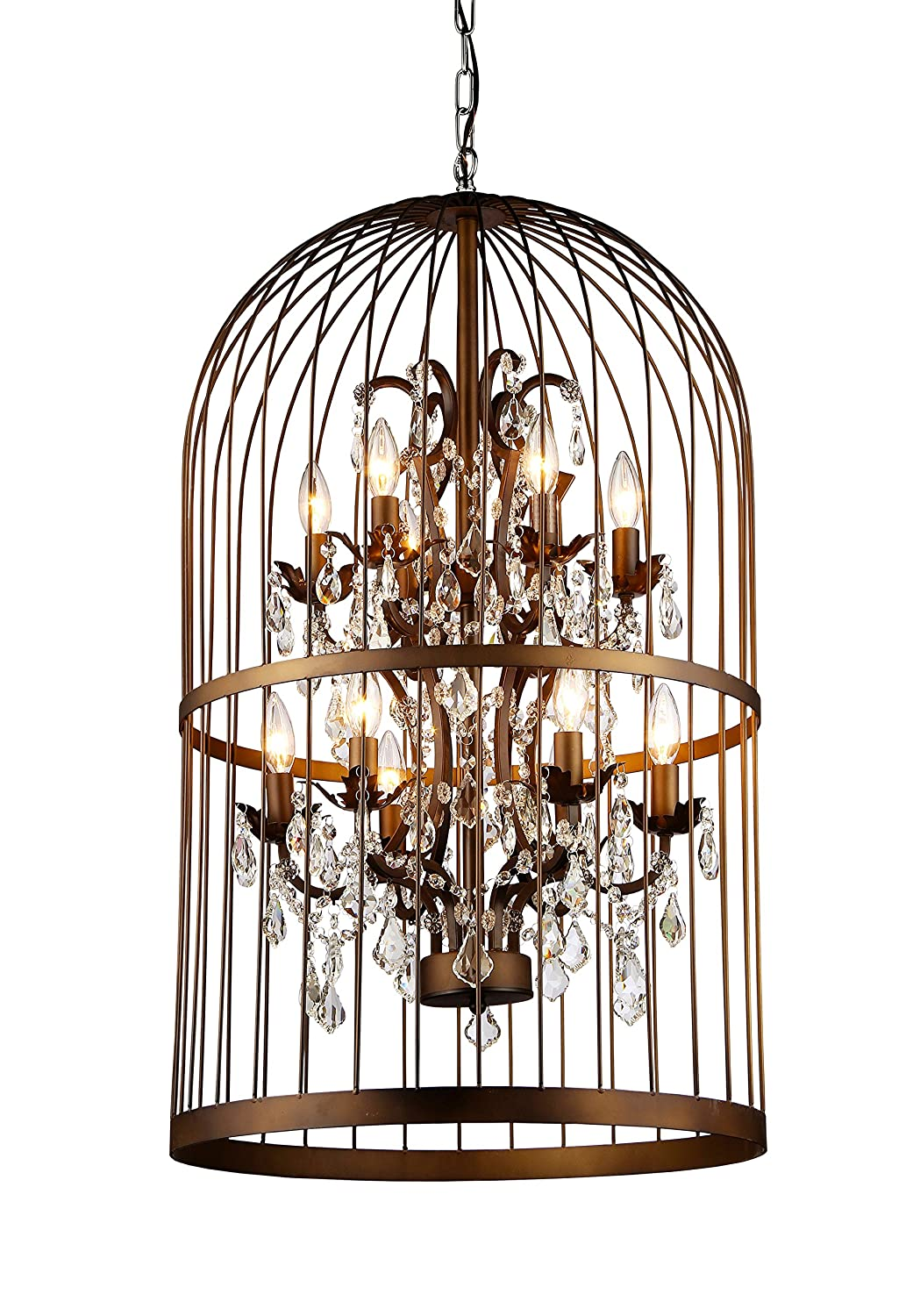 Whse of tiffany rl8058b rinee cage chandelier amazon arubaitofo Choice Image