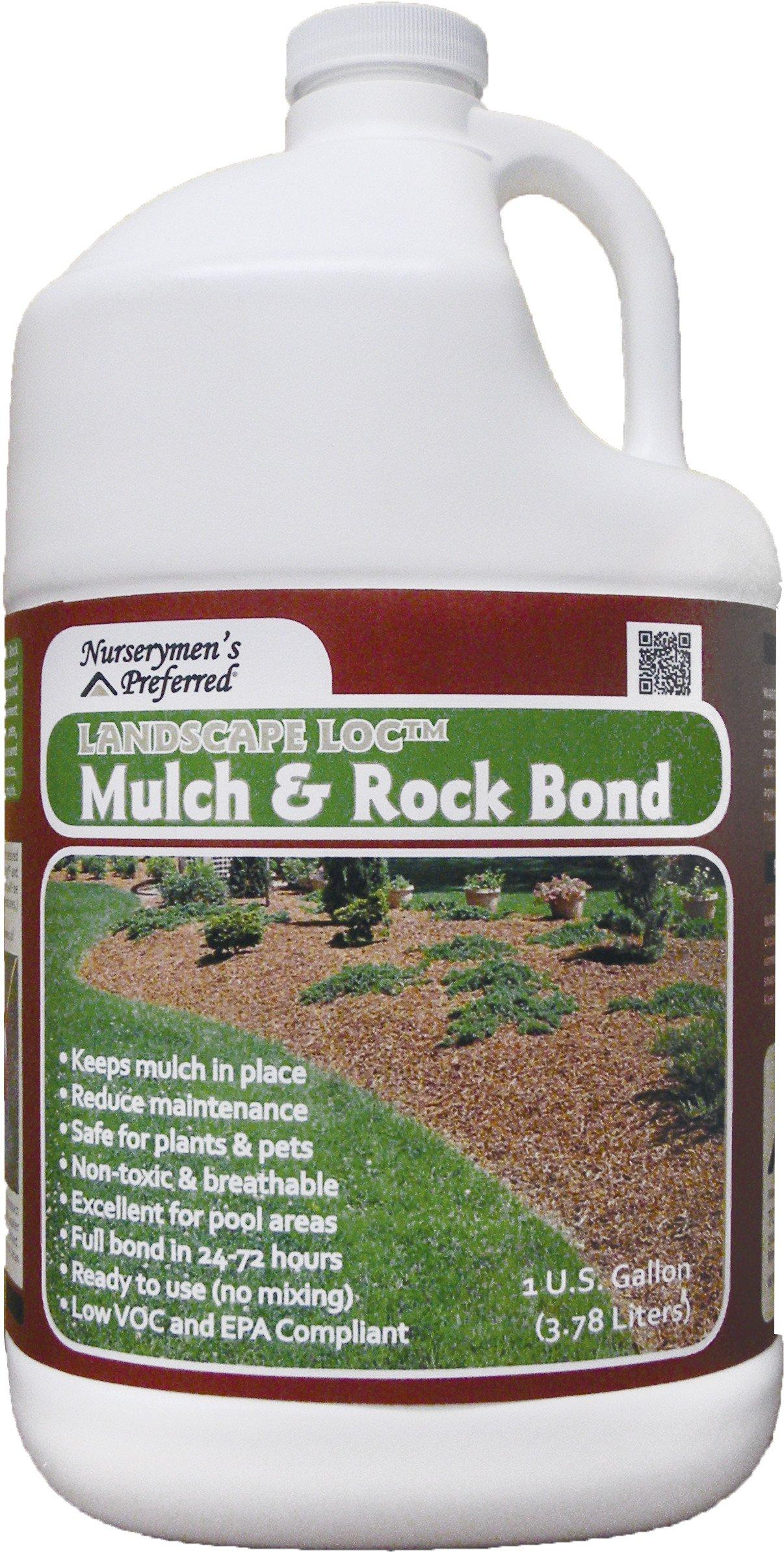 Nurserymen's Preferred Landscape Loc Mulch & Rock Bond - 1 Gal. (4 Pack)