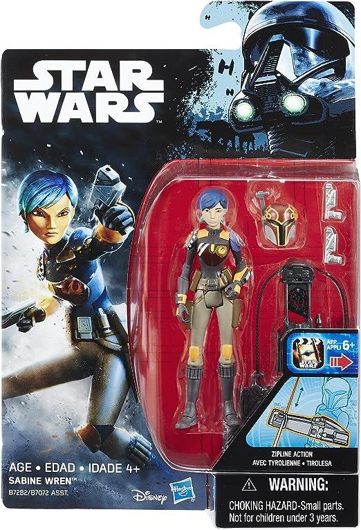 "Star Wars Rebels Sabine Wren 3.75"" New"