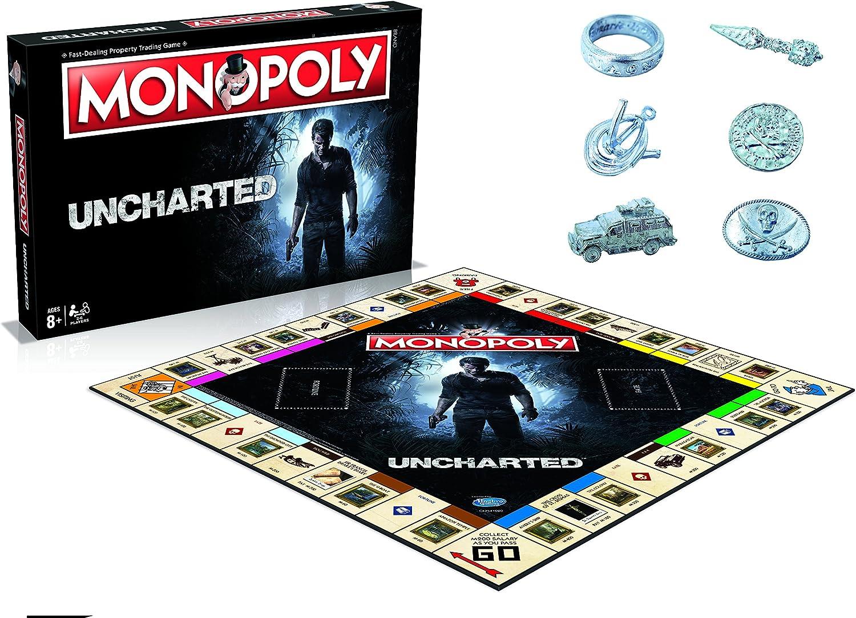 Uncharted Monopoly Board Game: Amazon.es: Libros en idiomas extranjeros