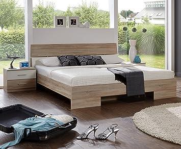 Wimex Schlafzimmer Set Alina, Bestehend aus Bett und Nachtschränken ...
