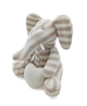 Kiyi-Gift Bebé Juguete | Adorable Juguete de Peluche de Elefante con Corazón | Algodón