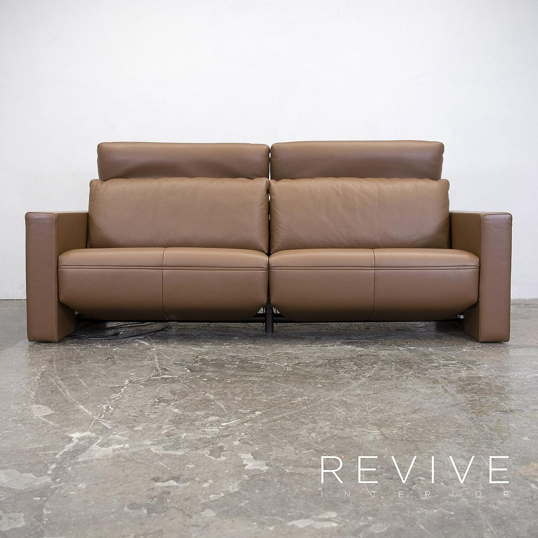 Faszinierend Couch Relaxfunktion Ideen Von Conceptreview: Fsm Moto Leder Sofa S Braun