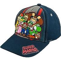Nintendo Super Mario Family Navy Baseball Cap ? Size Boys' 4-14 [6014]