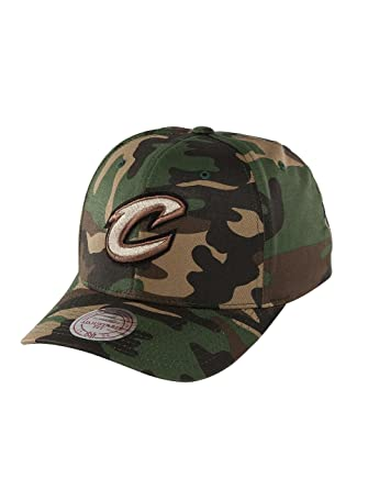 Mitchell   Ness Men Caps Snapback Cap NBA Woodland Camo and Suede Camouflage  Adjustable 26ce91dd1507
