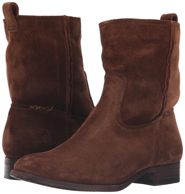 FRYE Women's Cara Short Suede Boot B01AA7YAAI 8 B(M) US|Wood