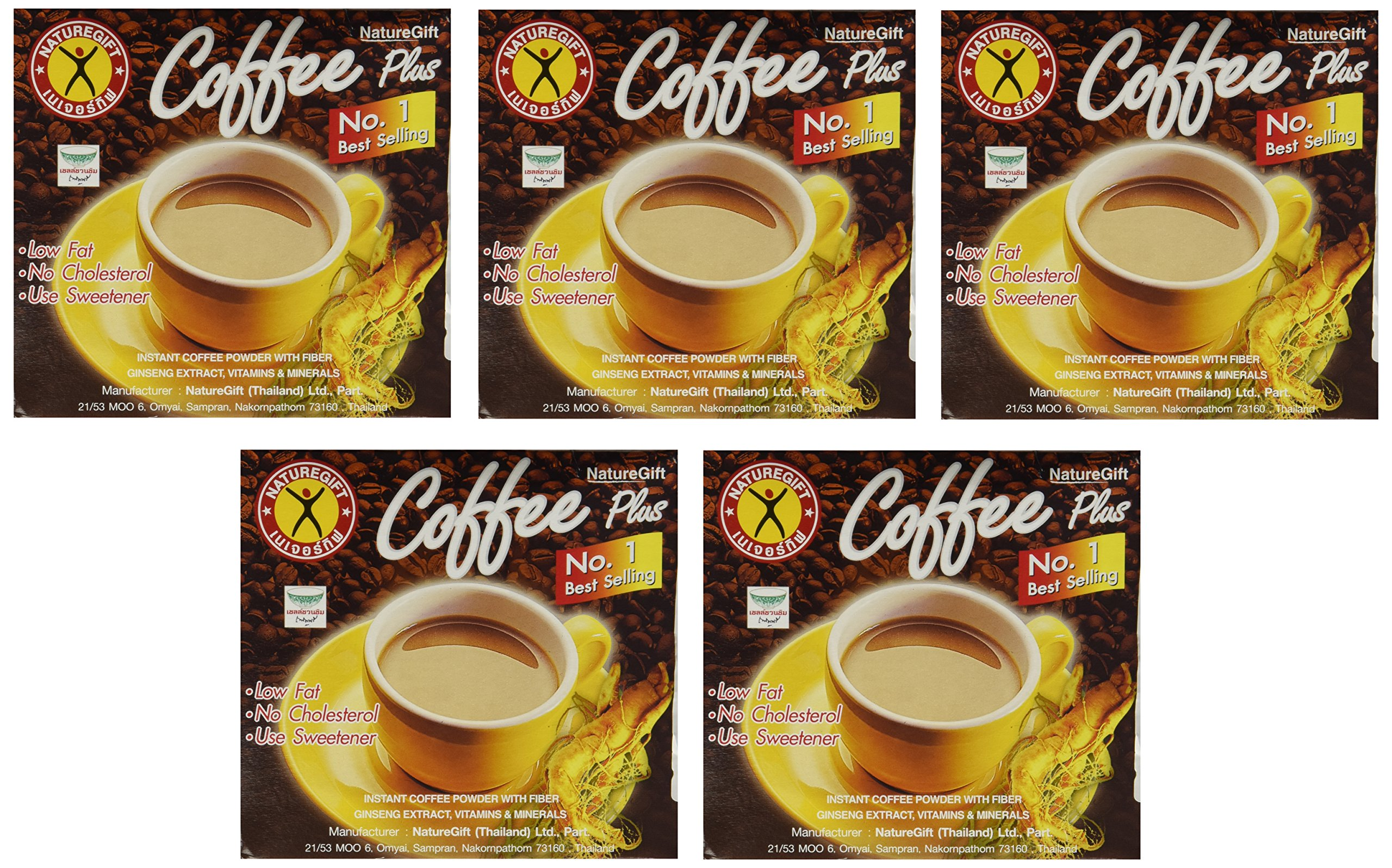 Naturegift- Weight Loss Diet Instant Coffee [Slimming] X 5 Boxes by Nature Is Gift